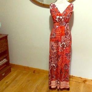 Garnet Hill Maxi Dress Size 6